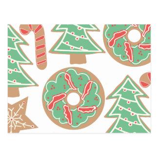 Navidad que cuece la impresión postal