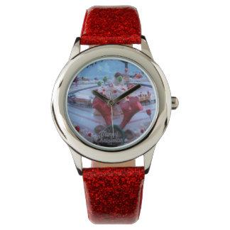 navidad reloj