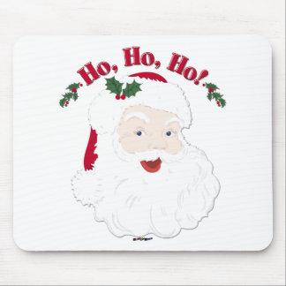 ¡Navidad Santa del vintage Ho, Ho, Ho! Alfombrilla De Ratón