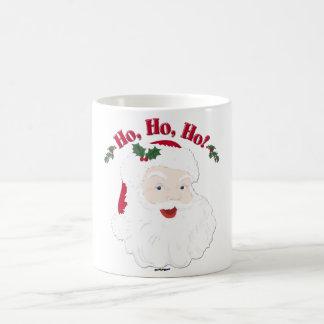 ¡Navidad Santa del vintage Ho, Ho, Ho! Taza Clásica