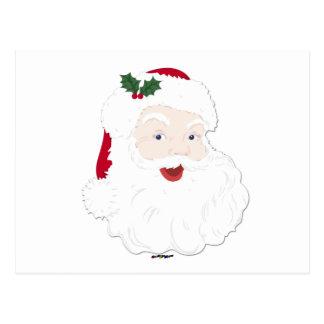 Navidad Santa del vintage Postal