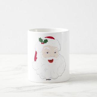 Navidad Santa del vintage Taza