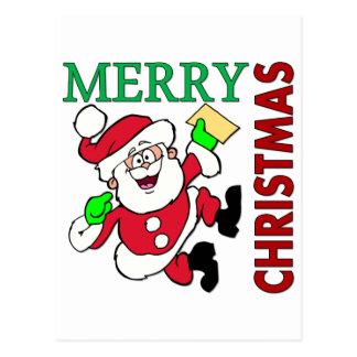 Navidad Santa Postal