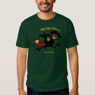 ¡Navidad Turquía que corre lejos! Camisas