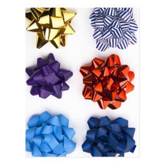 Navidad y arcos decorativos postal
