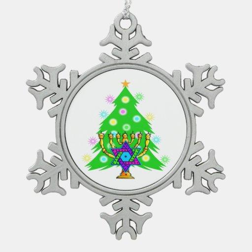 Navidad y Jánuca interconfesionales Adornos