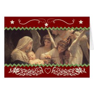 Navidad y navidad {I, horizontales} Tarjeta De Felicitación