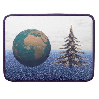 navidad y nieve del mundo funda para MacBook pro