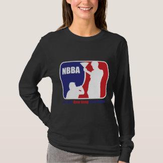 NBBA, cerveza de Nationatl Bong la asociación Camiseta