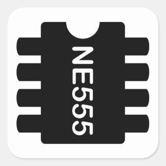 NE-555 PEGATINA CUADRADA