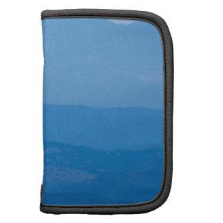 Neblina azul Layers.jpg de los picos gemelos de Organizadores