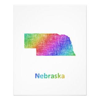Nebraska Folleto 11,4 X 14,2 Cm