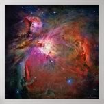 Nebulosa 42x42 (30x30) de Orión Posters