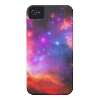 Nebulosa abstracta de la nube de Magellanic Funda Para iPhone 4