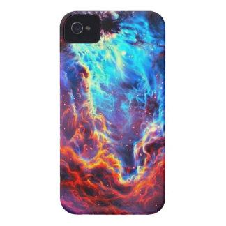 Nebulosa compuesta de la estrella del color funda para iPhone 4 de Case-Mate