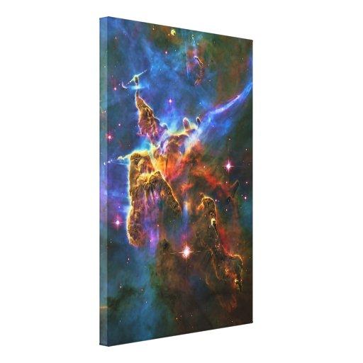 Nebulosa de Carina, estrella que forma la escultur Lona Estirada Galerias