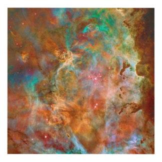 Nebulosa de Carina, imagen del espacio de la Cuadro