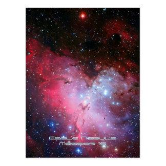 Nebulosa de Eagle, 16 más sucios - pilares de la Postal