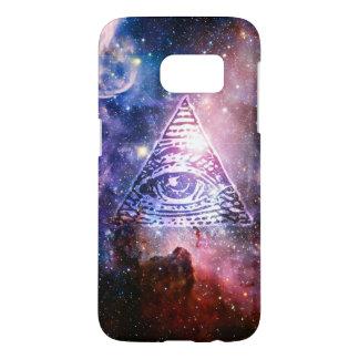 Nebulosa de Illuminati Funda Samsung Galaxy S7