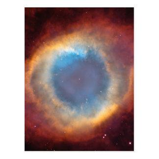 Nebulosa de la hélice de Hubble Postal