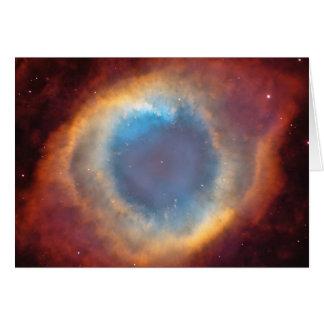 Nebulosa de la hélice de Hubble Tarjeta De Felicitación