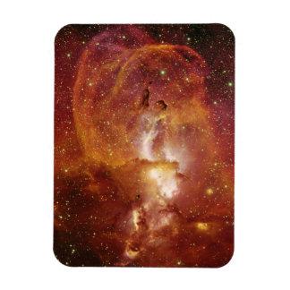 Nebulosa de menor importancia NGC 3582 en el Imán