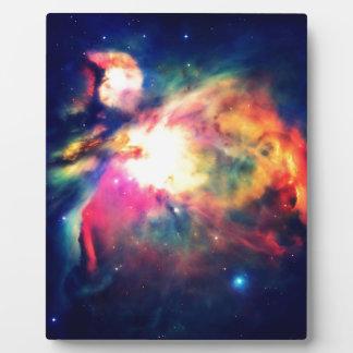 Nebulosa de Orión Hauntingly hermosa Placa Expositora