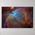 Nebulosa de Orión, M42, NGC 1976 Poster