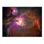 Nebulosa de Orión (telescopio de Hubble) Tarjeta Postal
