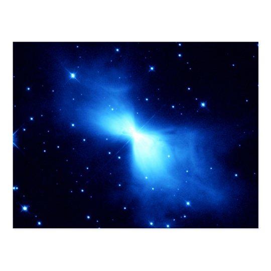 Nebulosa del bumerán (telescopio de Hubble) Postal