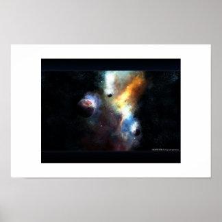 Nebulosa del desplome póster