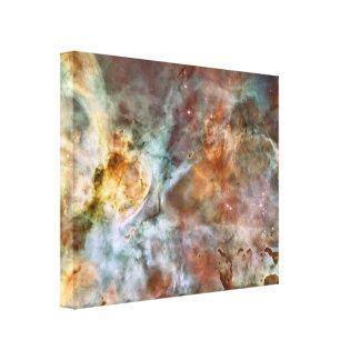 Nebulosa del espacio lienzo