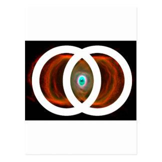 Nebulosa del reloj de arena de Piscis de la vejiga Tarjetas Postales
