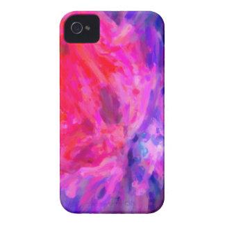 Nebulosa galáctica abstracta con la nube cósmica 6 carcasa para iPhone 4 de Case-Mate