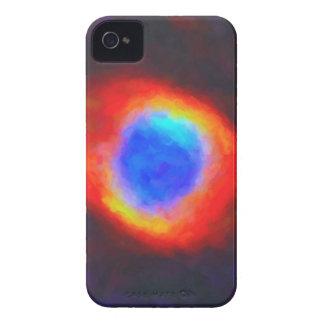 Nebulosa galáctica abstracta con la nube cósmica 9 carcasa para iPhone 4 de Case-Mate
