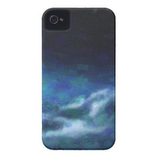 Nebulosa galáctica abstracta con la nube cósmica carcasa para iPhone 4 de Case-Mate