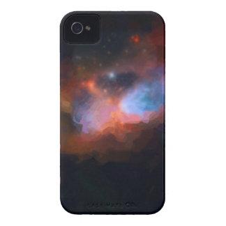 nebulosa galáctica abstracta ningún 1 funda para iPhone 4 de Case-Mate