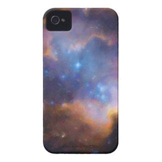 nebulosa galáctica abstracta ningunos 2 carcasa para iPhone 4 de Case-Mate