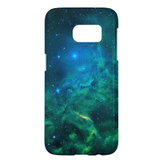 Nebulosa llameante de la estrella funda samsung galaxy s7