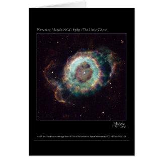 Nebulosa NGC 6369 el pequeño telescopio de Hubble Tarjeta