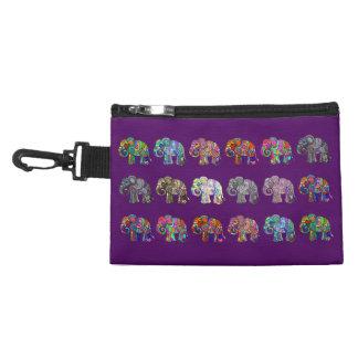 Neceser Con Gancho Desfile ornamental colorido hermoso del elefante