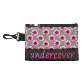 Neceser Con Gancho Flores rosadas secretas florales en cualquier