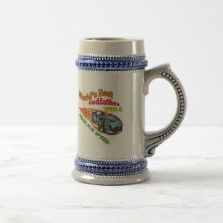 Necesidad del padrino de regalos del día de padre jarra de cerveza