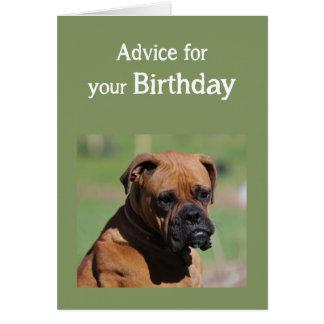 Necesidad del perro lindo del humor del cumpleaños tarjeta de felicitación
