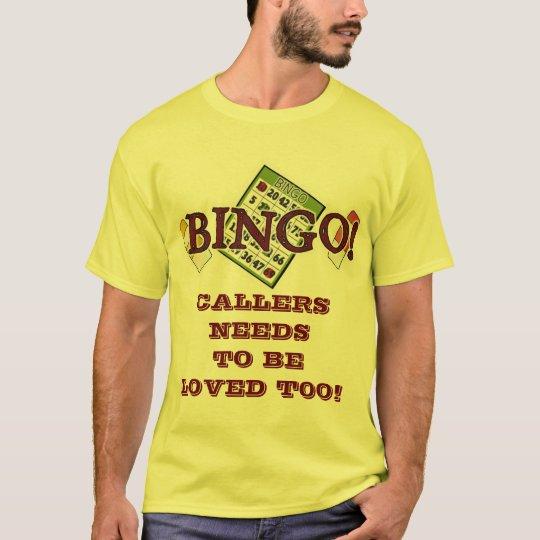 Necesidades de ser camiseta amada
