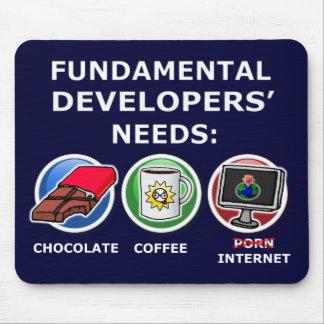 necesidades fundamentales del desarrollador tapete de raton