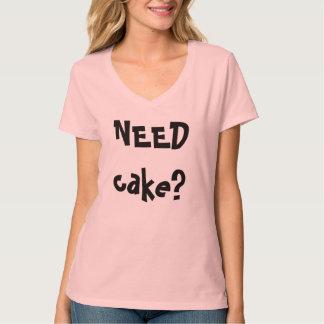 necesite la torta, llámeme que conseguí la torta camisetas