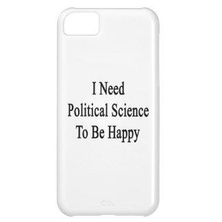 Necesito ciencia política ser feliz