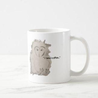 NECESITO la taza del owlet del CAFÉ