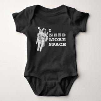 Necesito más espacio body para bebé